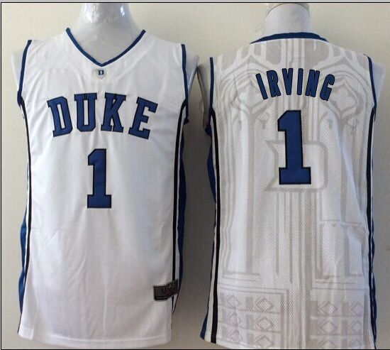 duke blue devils 1 kyrie irving 2015 blue jersey ba9432613