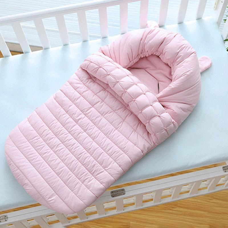 Baby Quilt Bionic Sleeping Bag Warm Windproof Newborn Quilt Baby Cotton Blanket Stroller Sleeping Bag For 0-36M Infant infant baby sleeping bag baby blankets quilt thick natural cotton sleeping bag detachable sleeves newborn swaddling clothes