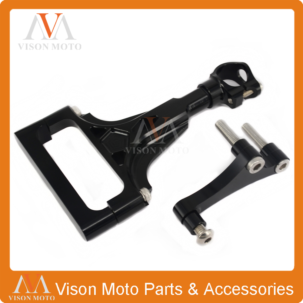 CNC Direction Steering Damper Stabilizer Holder Bracket Mounting For KAWASAKI Z1000 Z 1000 Z750 Z 750 03 04 05 06 07 08 09