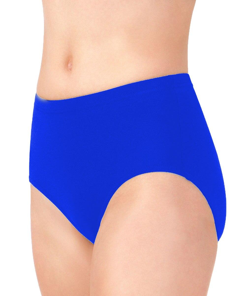 LZCMsoft Mid Waist Womens Tiler Peck Dance Briefs Lycra Spandex Bottoms Stage Performance Shorts Dance Underwear Shiny Panty
