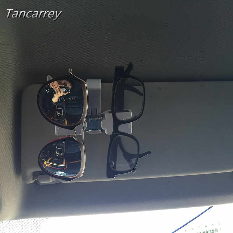 Pemegang Penyimpanan mobil Sun Visor Kacamata Sunglasses kacamata Untuk kursi vw polo passat b6 toyota avensis arosa suzuki swift volvo v60