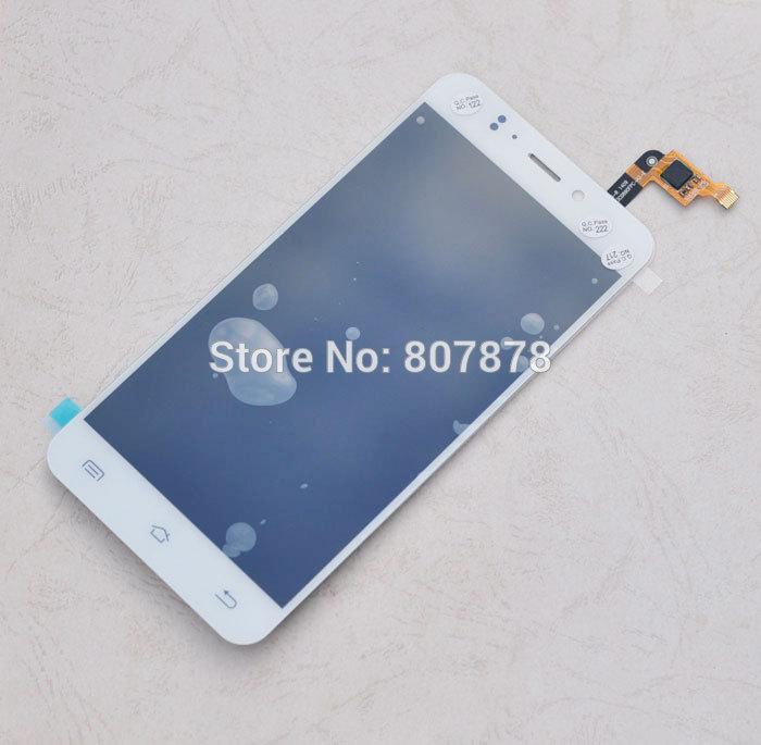 Prix pour Blanc/Noir Couleur JY-S2 Nouvel Écran LCD D'origine + Écran Tactile Numériseur Assembler Pour JIAYU S2 + Expédition rapide