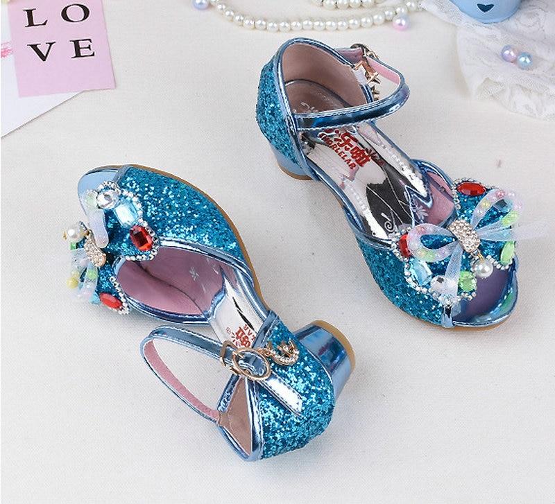 2018 Letnie dziecięce dziecięce dziewczyny Motylowe sandały - Obuwie dziecięce - Zdjęcie 2