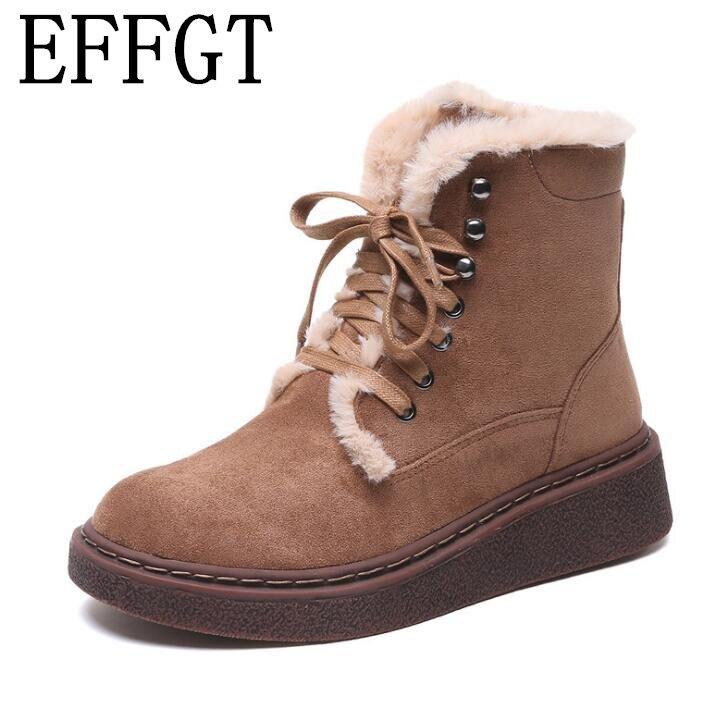 a726d852 Zapatos Nieve Z332 Moda khaki Felpa De Añadir Invierno Bota Negro Effgt  Botas Gruesa Mujer Casual Mujeres Algodón tq4nB0