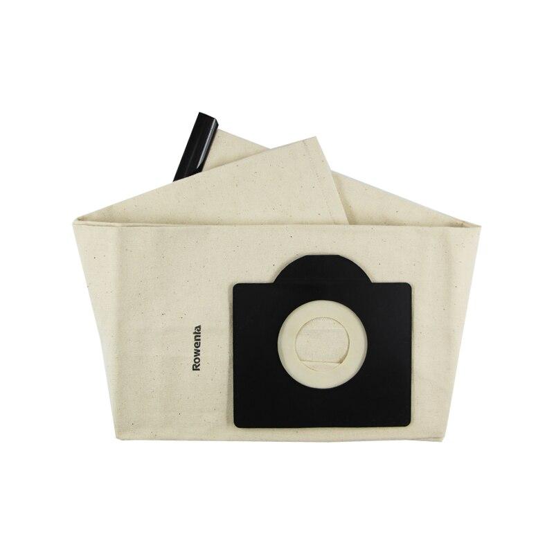 1 шт. льняная ткань сумки моющийся пылесос пылесборники для пылесборов Нетканая сумки и фильтр Сумка для сменки Замена для RU382 RU100 и т. д
