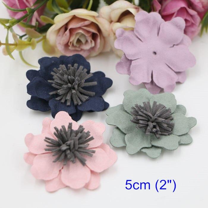 Popular handmade leather flowers buy cheap handmade for Leather flowers for crafts