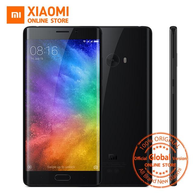 Global Version Xiaomi Mi Note 2 Prime 6GB RAM 128GB Mobile Phone Snapdragon 821 Quad Core 5.7inch Fingerprint ID NFC 22.56MP cam