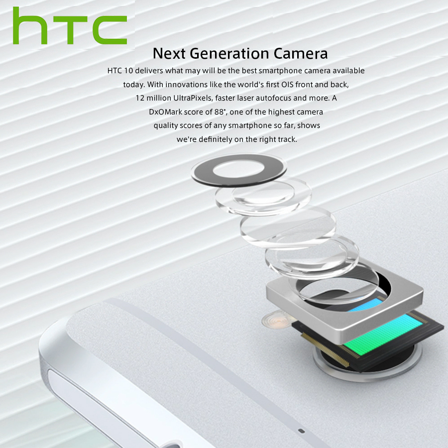 "Image 4 - Original HTC 10 M10H 4G Mobile Phone 5.2""1440x2560p 4GB RAM 64GB ROM Snapdragona820 QuadCore 12MP Android Smartphone Google Play-in Cellphones from Cellphones & Telecommunications"