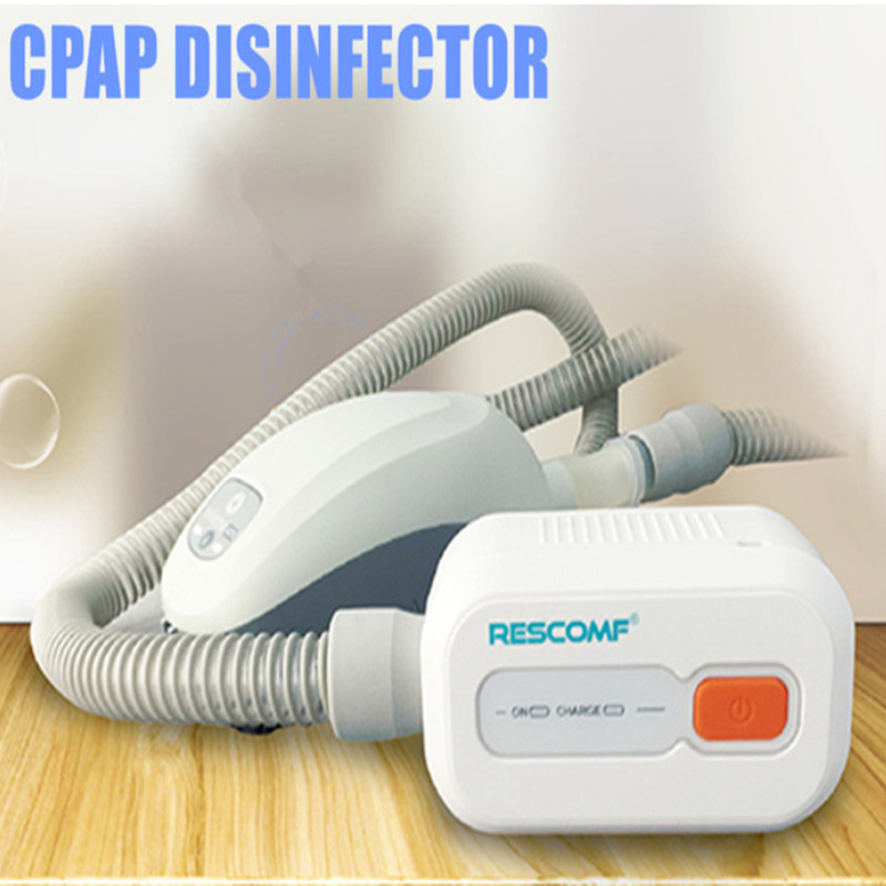Batteria CPAP Sanitizer Sterilizzatore Cleaner CPAP APAP Auto CPAP Disinfezione Ventilatore Cleaner Apnea Del Sonno OSAHS OSAS Anti Russare