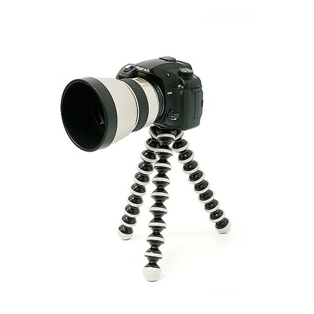Mini Tripods Large Octopus Flexible Tripod Stand Gorillapod for Tele Phone Mobile Phone Smartphone and Camera Table Desk Tripod