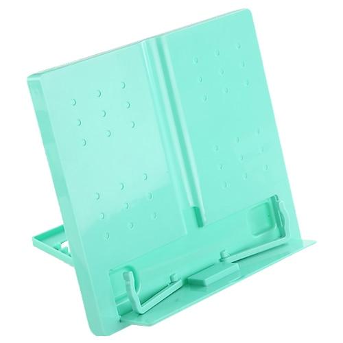 Jielisi 754 квадратных складной компьютера чтения машинки файла документа стойку зеленый