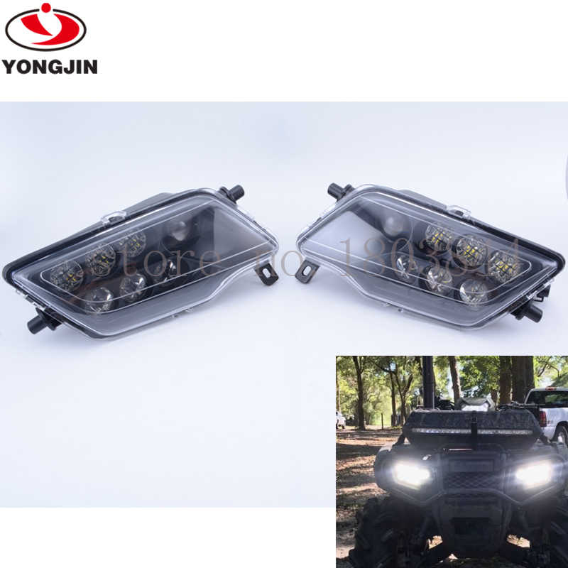 14 17 For Honda Rancher 420 & Foreman 500 LED HEADLIGHTS
