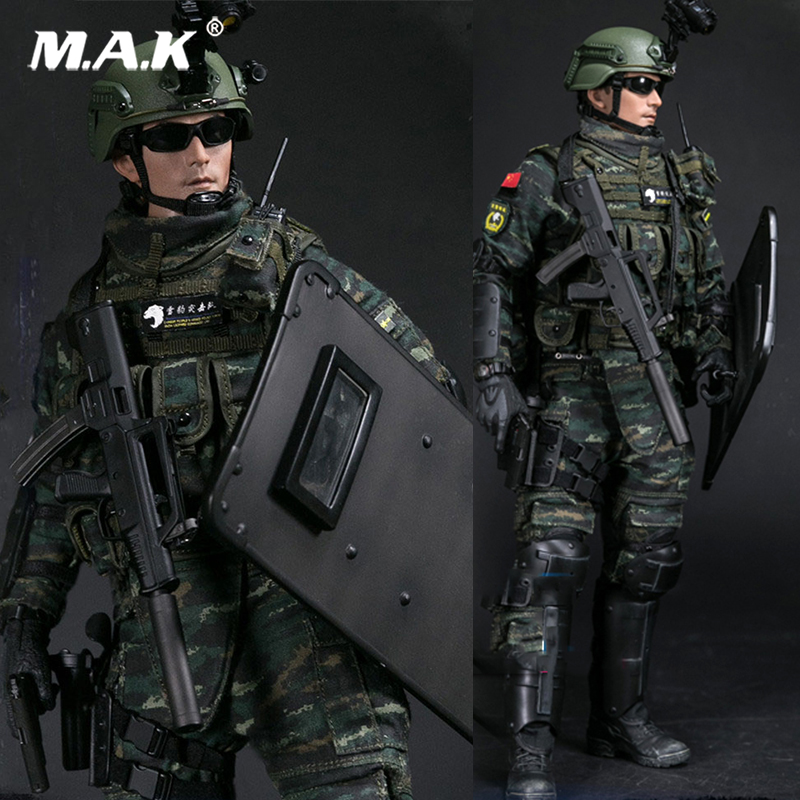 China Police: Full Set 1/6 Scale Military Soldier Model CHINESE PEOPLE'S