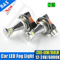1pair 48W 6000K Xenon White H15 LED bulbs For Auto LED Daytime running Lights DC12-24V