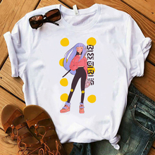 Vintage Vogue Paris printing Girl T Shirt summer fashion Women casual Tops hipster cool ladies Tee Aesthetic Femme Clothes
