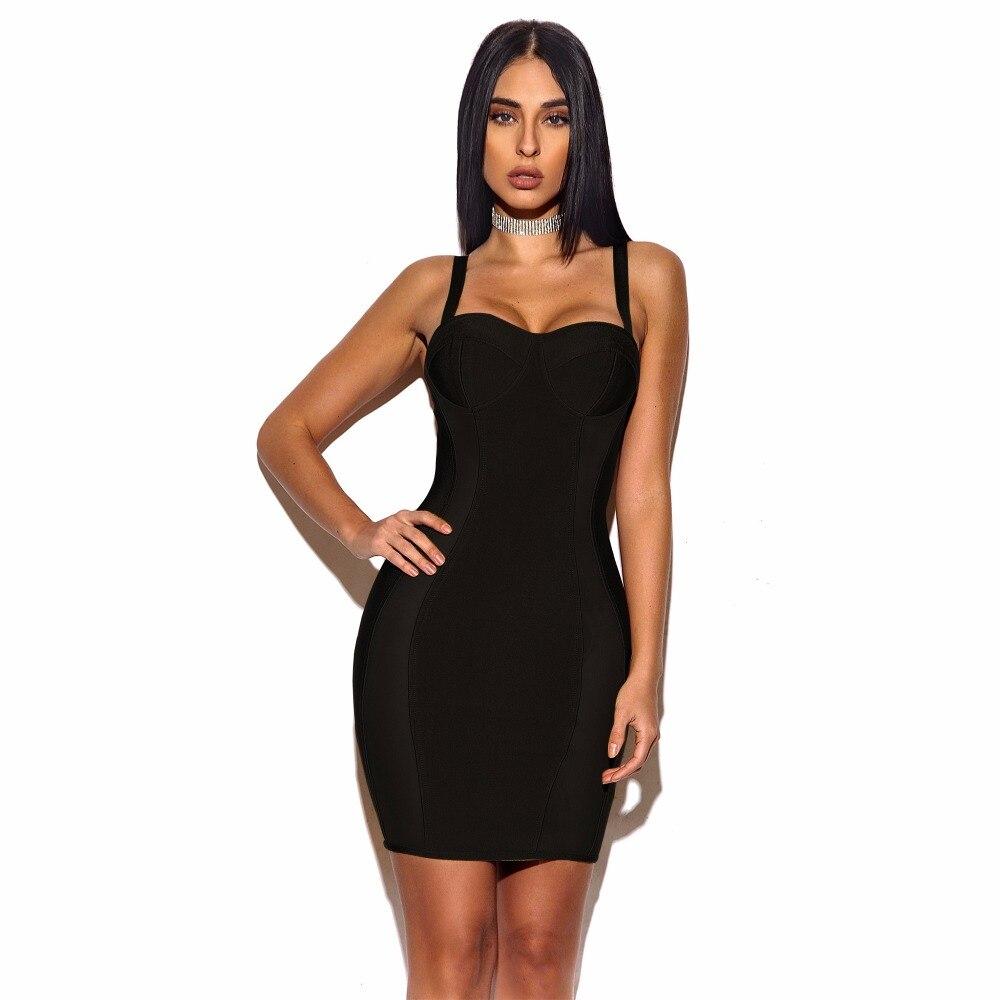 A50 En Robe Noir Arrivée Qualité Gros longueur Manches kaki Haute Nouvelle Cou Femmes D'été Parti Sans Sexy Slash Genou gBrgqaW