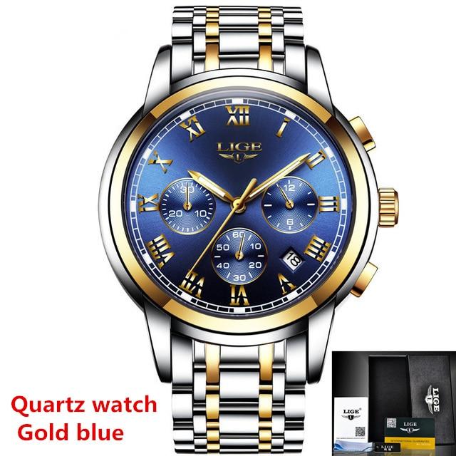 Gold blue Quartz
