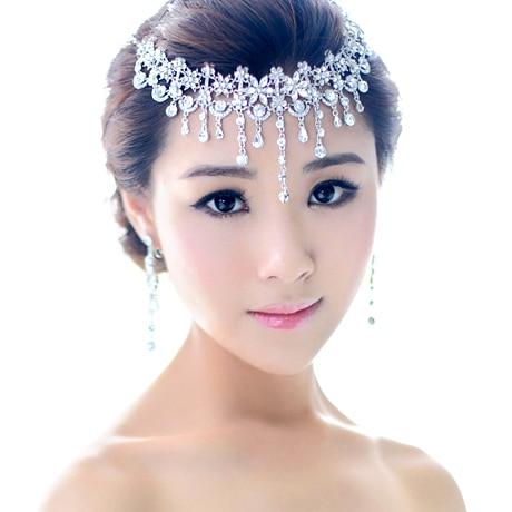 Crystal Bridal Hair Jewelry Rhinestone Headbands Wedding Hair ...