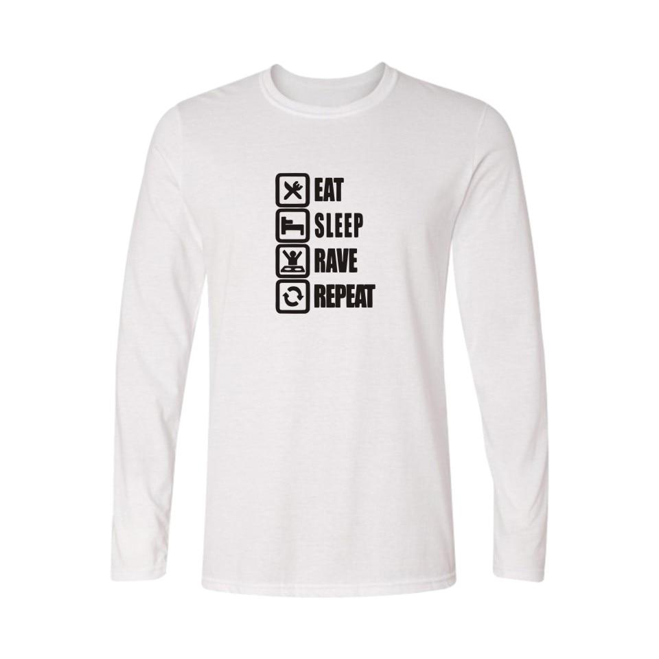 Shirt design for couples - Eat Sleep Game Couples Men Long Sleeve Tshirts Hip Hop Funny T Shirt Boy In Classic Design Soft Cotton Tees Xxs 3xl