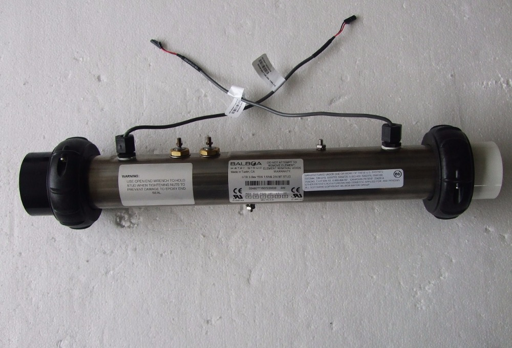 Balboa 3KW GL GS réchauffeur inc M7 capteurs et goujons adaptés 58107, 58141, 58118 (GL et GS chauffages)