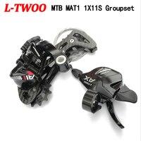 LTWOO MAT1 1X11 Speed Groupset Shifter 11 Speed Rear Derailleur Carbon Bracket Compatible 52T Cassette For Shimano XT SRAM 11 S
