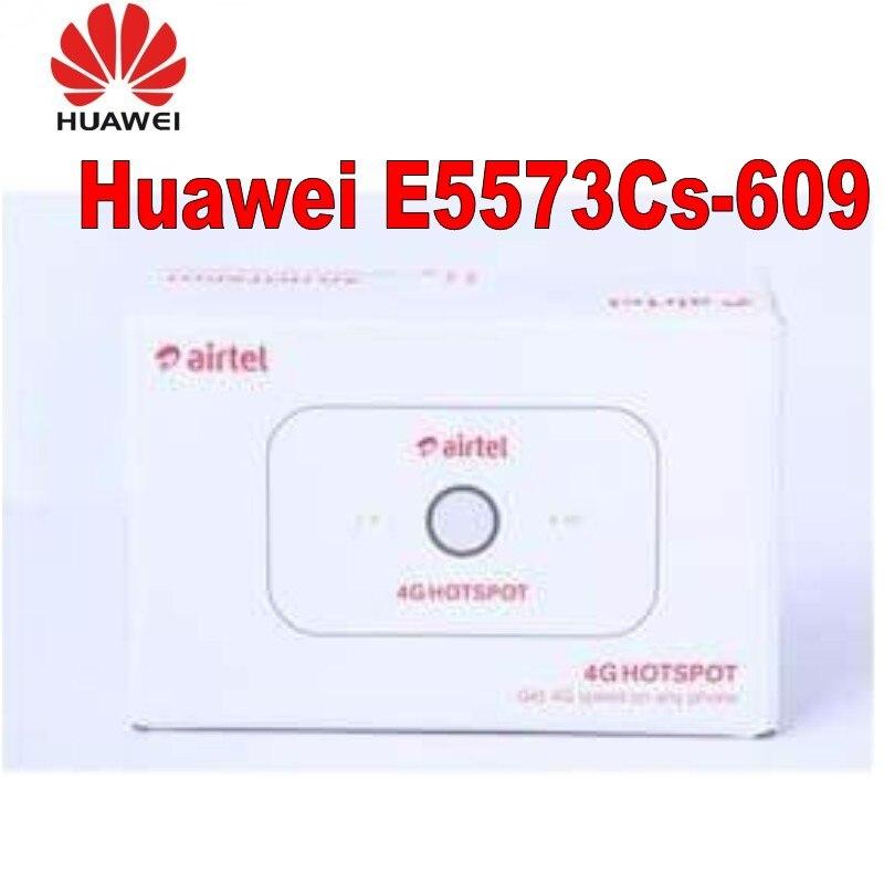 Débloqué Huawei E5573 E5573Cs-609 LTE FDD 150 Mbps 4G poche routeur WiFi Modem