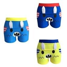 Maillot de bain garcon enfant плавки для мальчиков на шнурке водонепроницаемые Короткие штаны пляжная одежда, купальники
