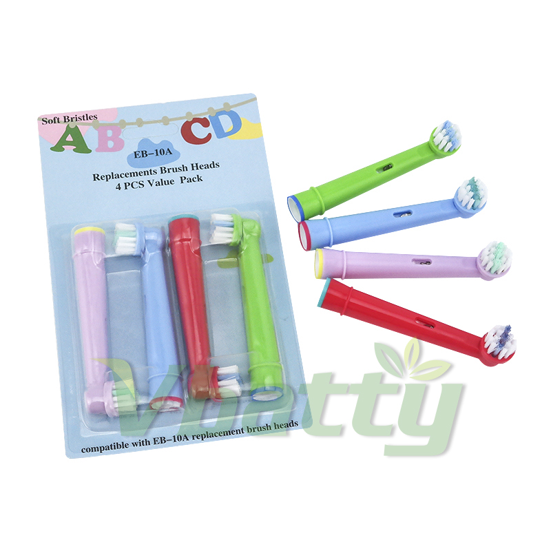4pcs/pack Children replacement electric toothbrush head for <font><b>Oral</b></font> <font><b>B</b></font> Pro4000/<font><b>5000</b></font>/6000 image