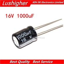 10 Uds 16V1000UF 10*13mm 1000UF 16V, 10mm x 13mm, condensador electrolítico de aluminio DIP