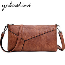 Female Patchwork Flap Bag 2019 Soft Leather Luxury Women bags Designer Shoulder bags for women crossbody bag Sac a main femme womens crossbody bag small flap pu leather v o a designer lady shoulder bag female luxury handbag sacs main femme 2019 bandolera