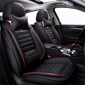 Image 2 - High PU Leather car seat covers 5 seats For Audi a1 a3 a4 a5 a6 a7 a8 a4L a6L a8L q2 q3 q5 q7 q5L sq5,RS Q3,a4 b8/b6,a3 8p,a4 b7