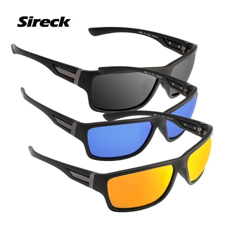 Esporte para Mulheres dos Homens Óculos de Pesca Sireck Polarizados Óculos  de Sol Uv400 Condução Escalada Ciclismo Pesca Caminhadas Eyewear 5f4e5dec44