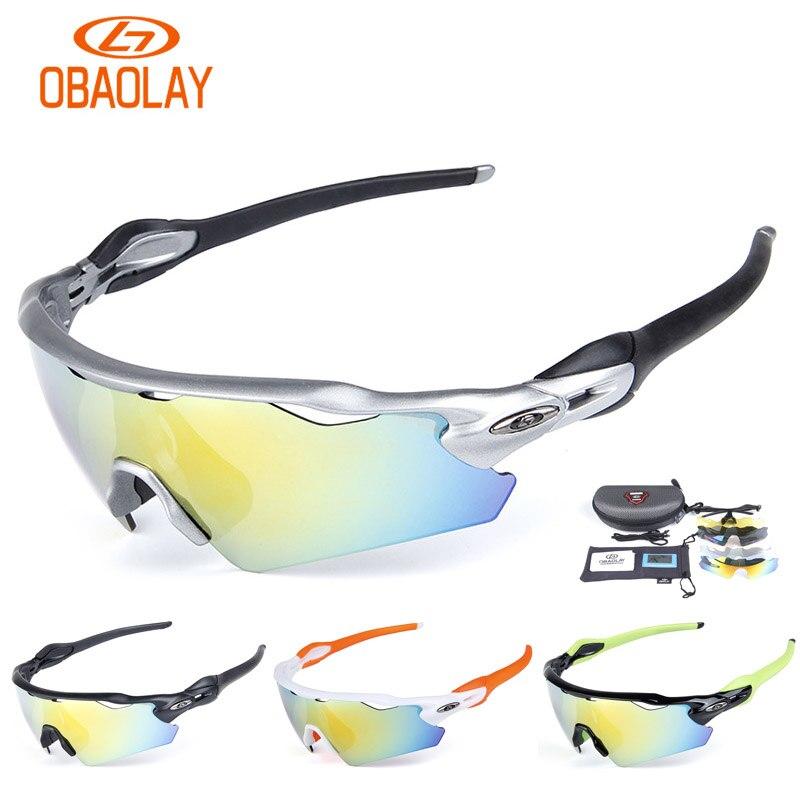 Цена за 2017 OBAOLAY Марка Велоспорт Очки Велосипед ev Polarizadas Hombre Радар Велосипедные Очки Occhiali Gafas Ciclismo MTB Очки