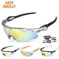 2017 OBAOLAY Brand Cycling Glasses Bike ev Gafas Ciclismo Polarizadas Hombre Radar Cycling Sunglasses Occhiali MTB Goggles