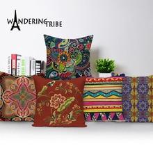 Китайский чехол, подушка, красочные подушки для дома, Наволочка на заказ, Геометрическая декоративная наволочка, Прямая поставка