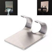 304 бритвенный держатель из нержавеющей стали, бритвенный стеллаж для ванной, вискозный крючок для бритвы, Мужская полка для бритья
