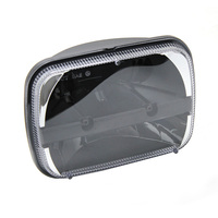 6x7 Square LED Headlights Projector with High/Low Beam Driving Lamp For Truck Jeep Offroad Car