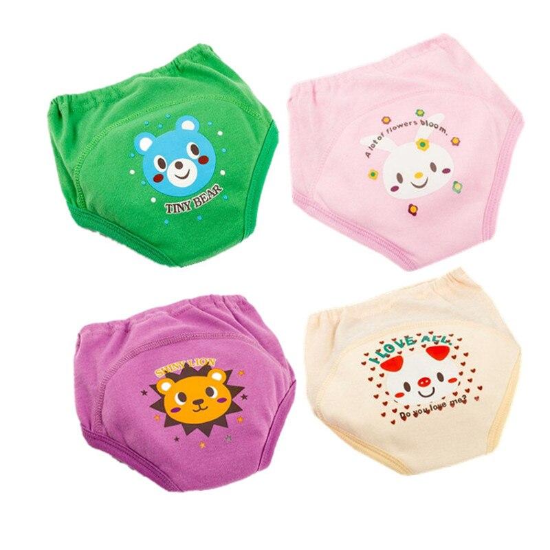 Orinal, pantalones de entrenamiento para bebés, pañales para niños pequeños, bragas para niñas, pañales de tela lavables reutilizables, pañales de algodón para bebés a prueba de agua