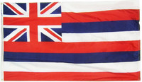 Hawaii State Flag New 3x5ft Indoor/Outdoor US State Flag Banner, free shipping