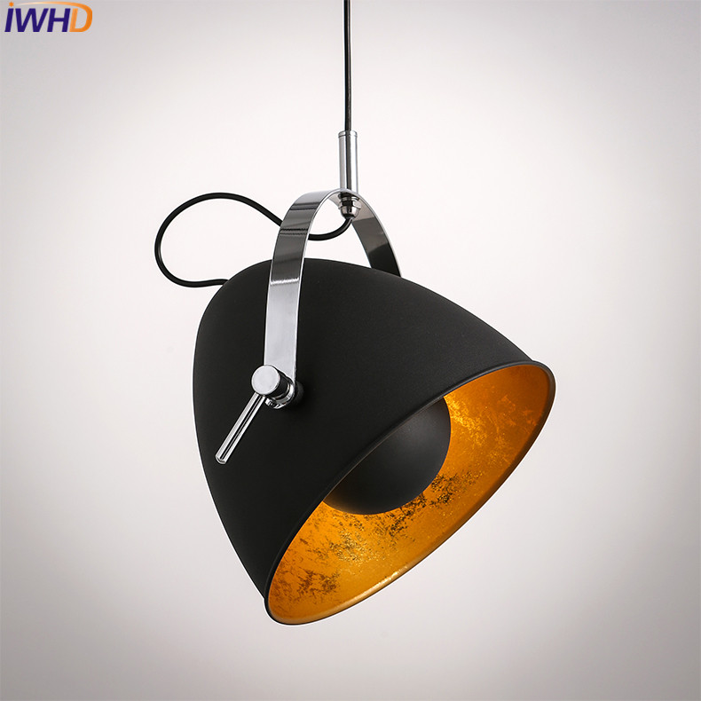 IWHD Black Iron Hanging Lights Nordic Style Loft Retro Vintage Pendant Lamp Kitchen Luminaire Suspendu Home Lighting Fixtures iwhd black iron hanging lights nordic style loft retro vintage pendant lamp kitchen luminaire suspendu home lighting fixtures