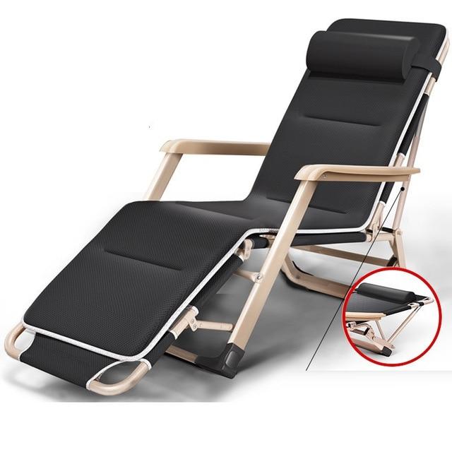 € 149.7  Mobilier Bain Soleil plage fauteuil inclinable Transat Mueble  Mobilier extérieur Lit pliant Salon De Jardin Lit Chaise longue dans  Chaises ...