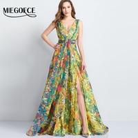 Women Elegant Summer Dress V Neck Sleeveless Fashion Print Boho Beach Dress Sexy Special Occasion Dress