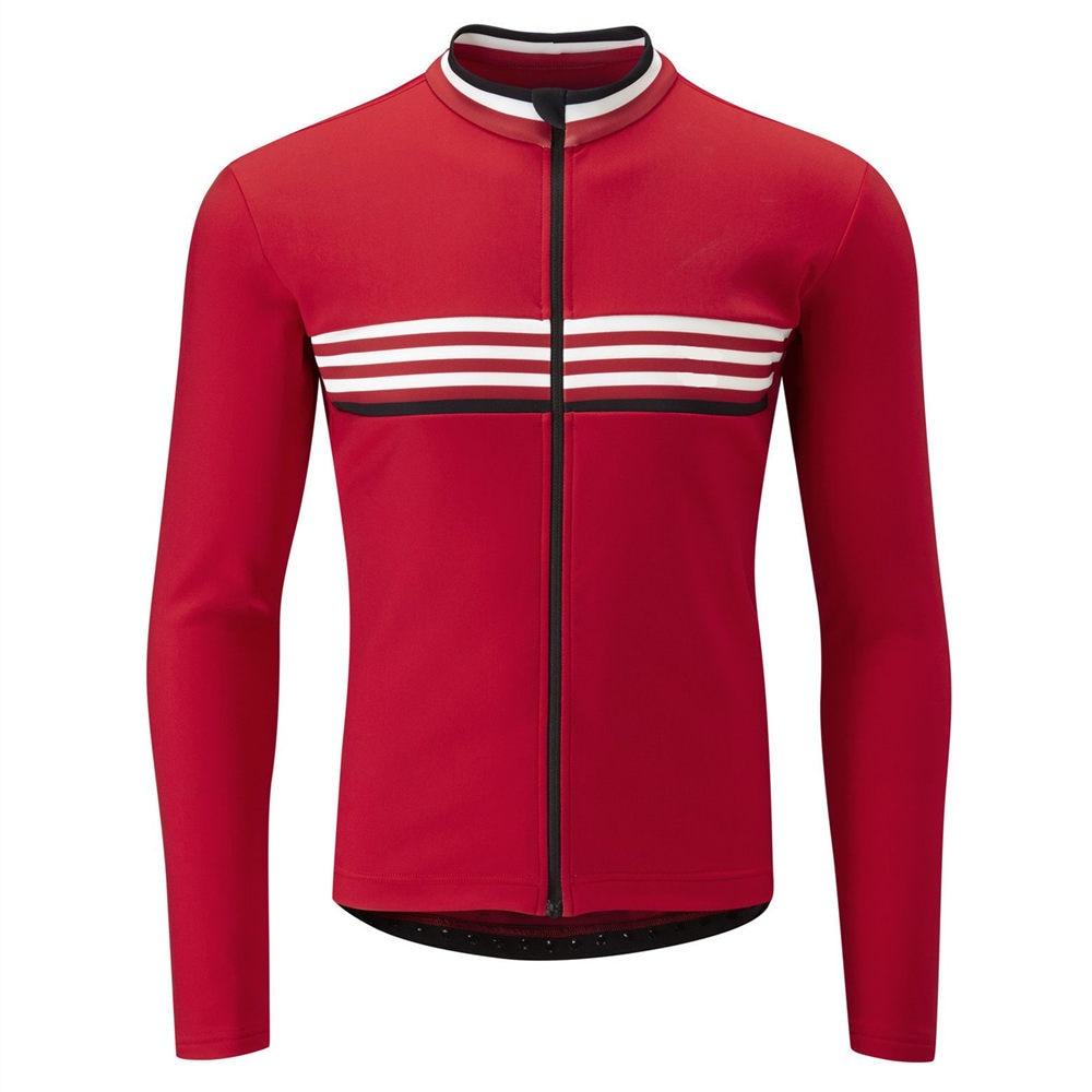 New Men cycling thermal fleece jersey bicycle tops winter long sleeve bike shirt
