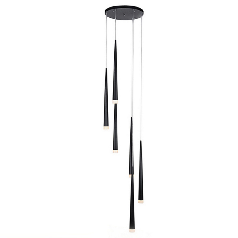 Modern Nordic Pendant Lights simple White Black metal lampshade acrylic cover hanging Lamp Home Light Kung E27 bulb Suspension metal pendant light nordic style pendant lights office furniture simple modern lighting contains bulb free shipping