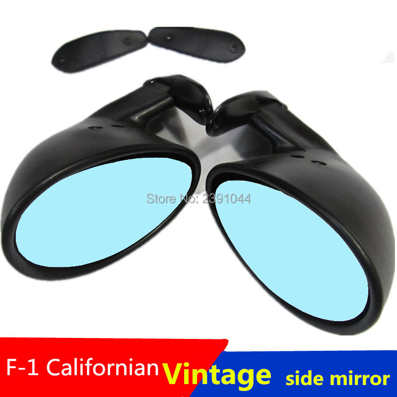 California Style Universal Car Classic Retro Door Wing Side Mirror Rearview Vintage Matte Black L+RCalifornia Style Universal Car Classic Retro Door Wing Side Mirror Rearview Vintage Matte Black L+R