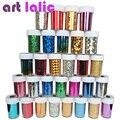 12 Unids Transferencia Art Nail Foil Engomada de Papel DIY Belleza Herramientas de Diseño de Uñas Decoración de Uñas Con Estilo Color Al Azar