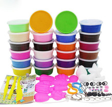 4Style Sets With Gift Air Drying Super Light Plastic Clay Colorful Silly Putty font b Plasticine