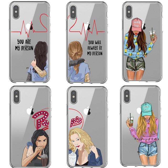TV americana Riverdale Betty e Veronica Grays Anatomia Da Amizade você é Minha Pessoa Para o iphone SE 6 6 7 SPlus 8 Plus X10 XR XS MAX