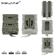 VULPO Tactical 7.62 Magzine Pouch Carrier with Molle/Belt Fast Attach Millitary Molle Quick Release Single Holster