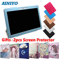 PU Leather Stand Case for PIXUS VISION 2/16 3/16 3/3210.1 inch Tablet Folio Cover + free 2pcs Screen Protector